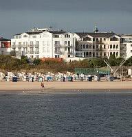 Aussicht vom Strand
