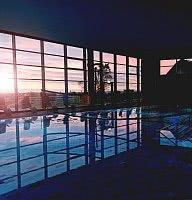Entdeckerbad Sonnenaufgang