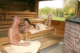 Sauna - Blockhaus