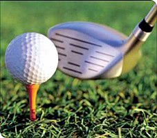 Golf - Abschlag