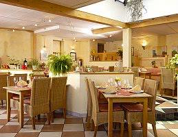 Restaurant mit mediterraner Küche