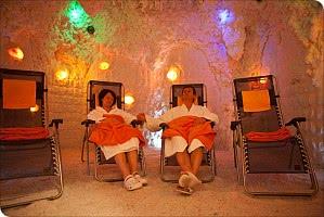 Exotische Salzgrotte - Gesunde Entspannung