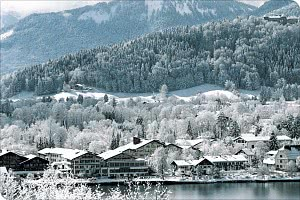 Panoramaansicht im Winter