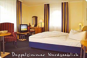 Doppelzimmer Nordseeblick