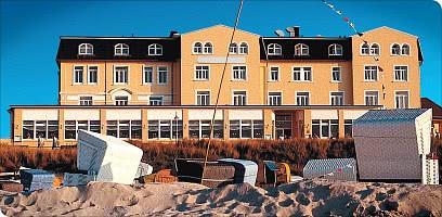 Willkommen im Hotel am Strand