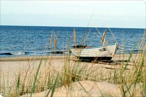 Strand / Fischerboot