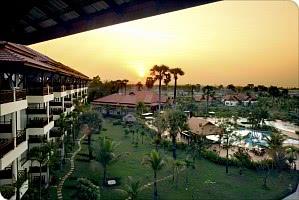 Hotel - Blick auf die Hotelanlage