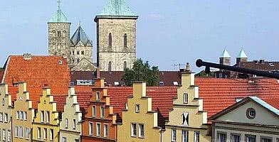 Historische Altstadt Osnabrück mit Dom