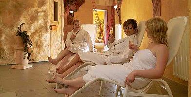 Wellnessbereich / Relaxliegen