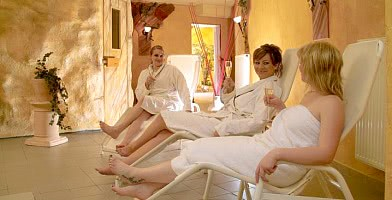 Spa - Wellnessbereich / Relaxliegen