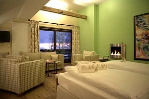 Neu im Romantik Hotel in St. Englmar: Die Wellness-Suite