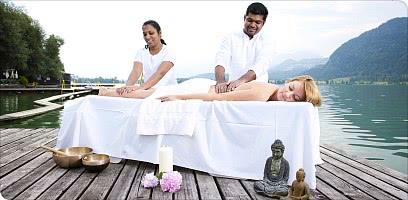 Ayurveda-Massage am See