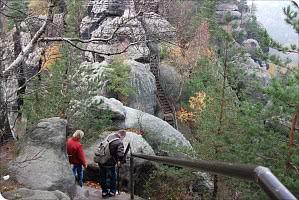 Wandern im Sandsteingebirge