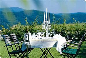 30 Kilometer nord-westlich von Straubing, im Bayerischen Wald, liegt der bekannte Wintersportort Sankt Englmar. Im 5 Kilometer entfernten Ortsteil Maibrunng fügt sich das Wohlfühlhotel in 850 Meter Höhe zwischen Berg- und Waldlandschaft mit einem wunderbaren Panoramablick über die Landschaft des Bayerischen Waldes ein.