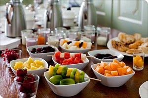 Früchtevariation Frühsück