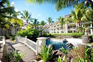 Paradiesische Hotelanlage