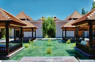Mit tropischen Anblicken empfängt Sie das Ana Mandara Hue