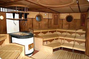 """Die Sauna """"Klabautermann"""""""