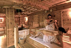 Zirben-Sauna
