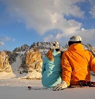Die Dolomiten im Winter