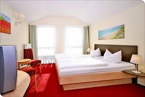 Doppelzimmer der Kategorie Komfort im Familienhotel Baabe / Rügen