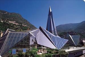 Wellness-Center inmitten der Berge Andorras