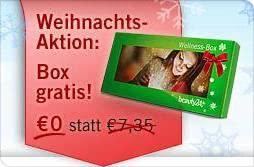 beauty24 Weihnachts-Aktion: Wellness-Box und Versand gratis