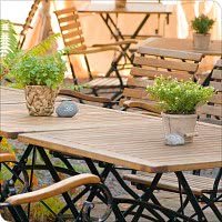 Sommer-Terrasse