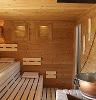 Finnische Kräuter Sauna