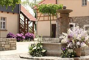 Der wunderschöne Innenhof