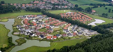 Luftaufnahme des Ortes Düneburg