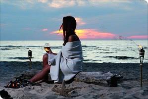 Sonnenuntergänge am Strand - Wellness für die Seele