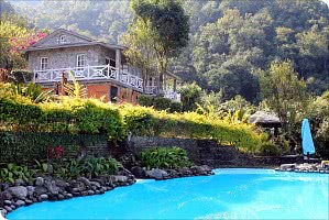The Begnas Lake Resort in Pokhara, Nepal