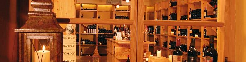 hoteleigener Weinkeller