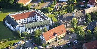 Das Hotel aus der Vogelperspektive