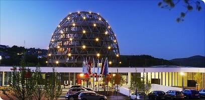 Das wohl erste Hotel-Ei Europas...