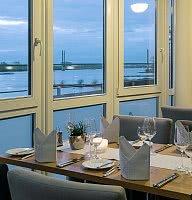 Restaurant mit Blick