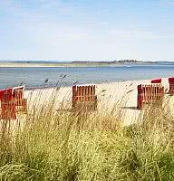 Sand, Sonne, Wind und Strand