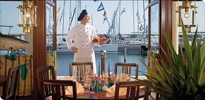 Kulinarik mit Ausblick - Newport Fisch