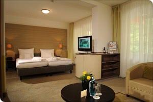 Blick in ein Komfort Plus Doppelzimmer