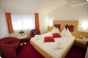 Das Doppelzimmer Alpenrose