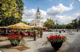 Marktplatz in Vilnius