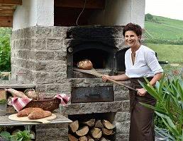 Leckeres Brot aus dem Holzofen
