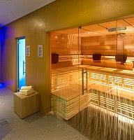 Moderne Saunawelt