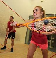 Beim Squash