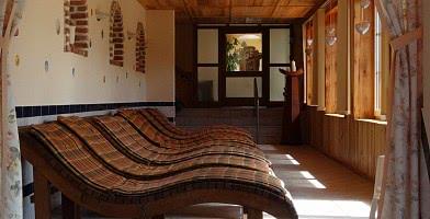 Sauna-Liegebereich