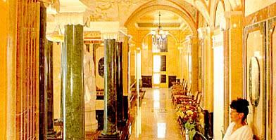 Eingang Badeabteilung