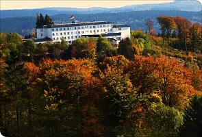 Landschaft um das Hotel