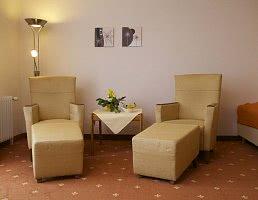 Sitzecke Luxus Doppelzimmer