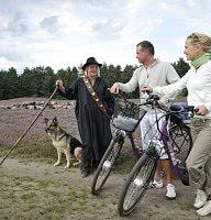 Wandern oder Radwandern in der Lüneburger Heide